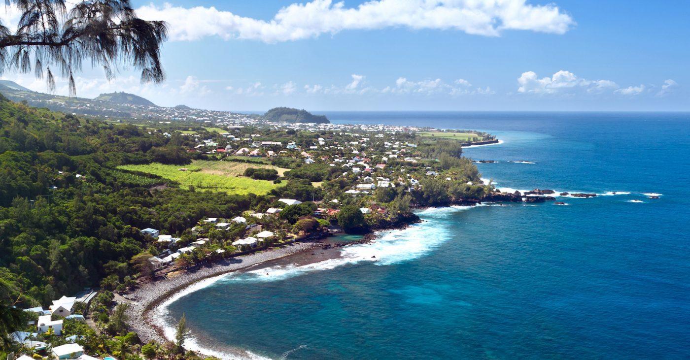 Beach o Manapany, Reunion Island